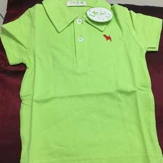 Toddler Polo T shirt (Green Color)