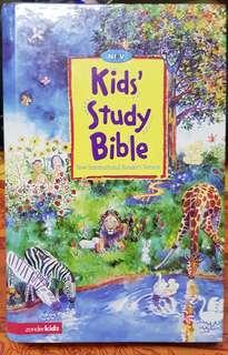 Kids' Study Bible NIV by ZonderKidz 6-10yo