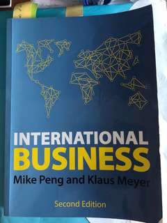 International Business; Peng & Meyer