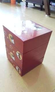🚚 米奇米妮四層置物、糖果盒