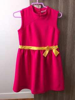 Oriental dress size 11-12