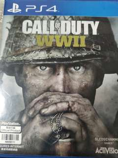 PS4 Call Of Duty WWII