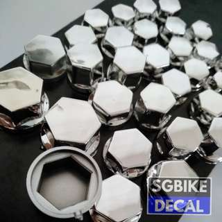 Hexagon Nut Cover 30pc