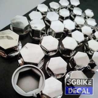 Hexagon Nut Cover 30pc