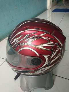 Helm yamaha full press