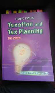 HK Taxation & Tax Planning 9th Edition
