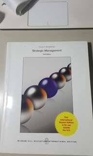 Strategic Management textbook