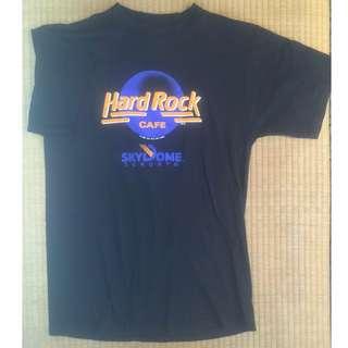 Hard Rock CAFE 硬石餐廳 美國布料 加拿大縫製