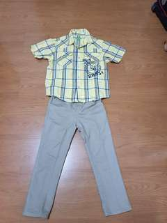 Bossini / spin polo and pants