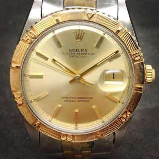 Rolex 1625 Turn-O-Graph Thunderbird Oyster Perpetual  Datejust Jubilee Vintage  Ø36mm
