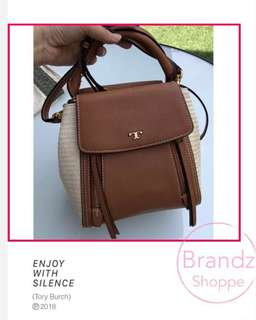 🛍SALE! 💯% Original Tory Burch Half Moon Mini Satchel / Crossbody Bag <Pre-Order NOW>