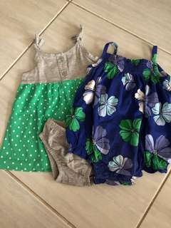 Baby girl clothes s3-6mos