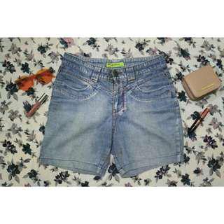 Hotpants jeans oversize
