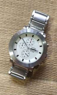 Citizen chronograph W.R. 10 Bar
