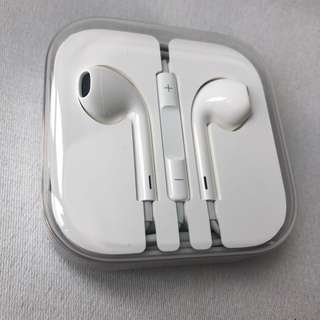 Apple iPhone 全新原裝免提 headphone handfree