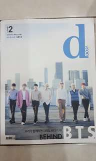 BTS DICON Dispatch Magazine without cards