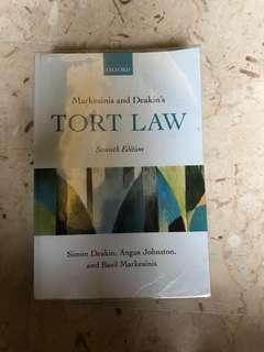 Tort Law Textbook (M&D)