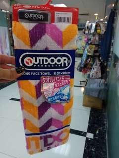 日本直送 outdoor毛巾送手帶