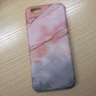 Iphone6/6s手機殼 大理石霧面