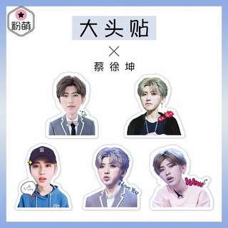 Nine Percent 蔡徐坤 XuKun Sticker