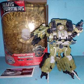 Hasbro Leader Size Transformers Decepticon Brawl Movie