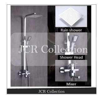 Brand New Rain Shower Set / Bathroom /  Shower Head / Mixer