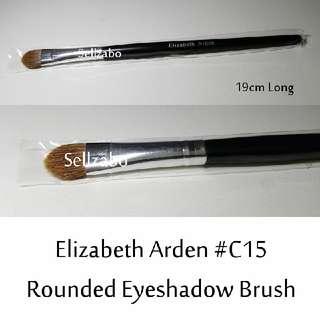 #C15 : Brush : Elizabeth Arden : Brushes : Rounded : Eyes Shadows : Eyeshadows : Eyesshadows : Powder : Black Colour : Applicators : Highlights : Face : Facial : Makeup : Cosmetics : Beauty : Tools : Sellzabo