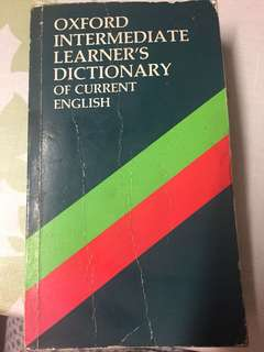 "OXFORD intermediate Learner""s Dictionary"