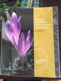 Organic Chemistry with Biological Applications by John McMurry