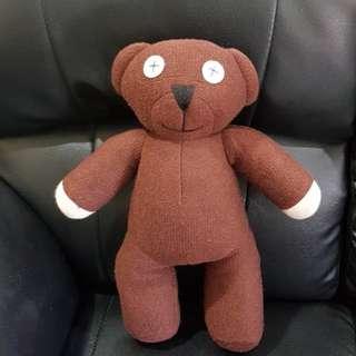 Boneka Teddy Bear Asli Mr. BEAN Original size 45 cm
