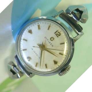 1950s' Ladies' Citizen 16 Jewels hand-winding watch...