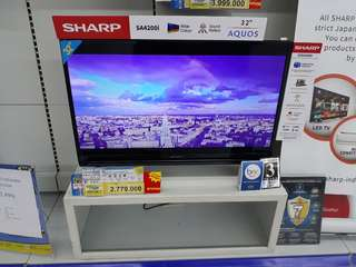 "Sharp LeD TV 32"" Cicilan tanpa CC proses 3menit Cair free 1x Angsuran"