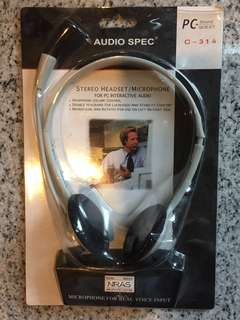 🚚 Stereo Headset 🎧 with microphone #CarouPay