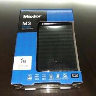 Maxtor M3 - 1TB (USB 3.0) External Hard Disk
