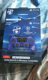Limited edition champions league ps4 controller