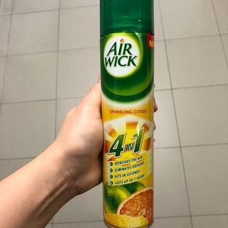 (300ml) BN Air Wick 4 In 1 Aerosol Air Freshener (Sparkling Citrus)