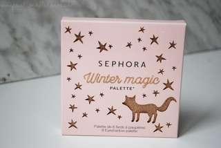 🚚 Sephora Winter Magic 8 Eyeshadow Palette