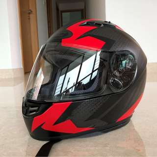 HJC Full Face Motorcycle Helmet CS-R3 (Brand New)
