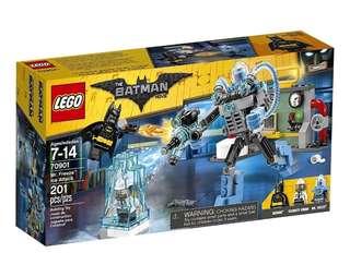 Lego Batman Movie Mr. Freeze Ice Attack 70901