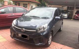 Axia 1.0 ( auto) for Grab/MyCar
