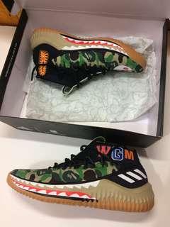 Lepas kolpri Authentic #Adidas X Bape X dame4green camo sz 39,5 fit 40 bisa paki Limited