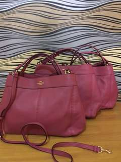 COACH SMALL LEXY ROUGE