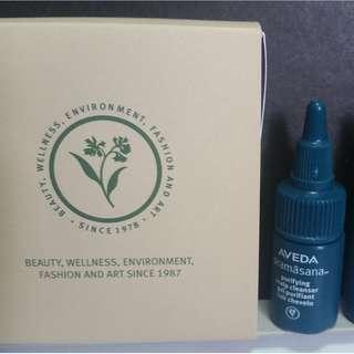 Aveda Purifying Scalp Cleanse Gel (10ml ×3) 98% Natural Ingredient