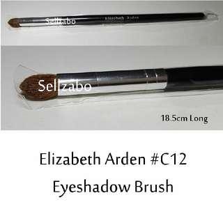 #C12 : Brush : Elizabeth Arden : Brushes : Angled : Eyes Shadows : Eyeshadows : Eyesshadows : Powder : Black Colour : Applicators : Highlights : Face : Facial : Makeup : Cosmetics : Beauty : Tools : Sellzabo