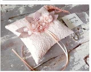 結婚用品 戒指枕