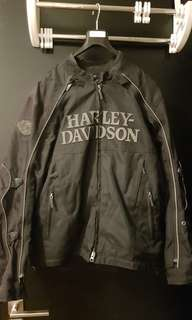 Genuine Harley Davidson Riding Jacket size M