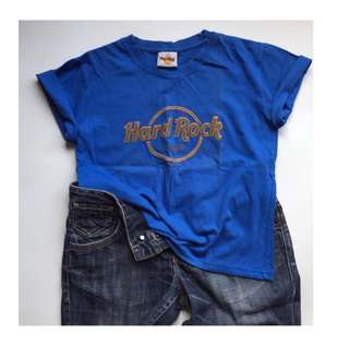 Zara Denim and Hard Rock Shirt