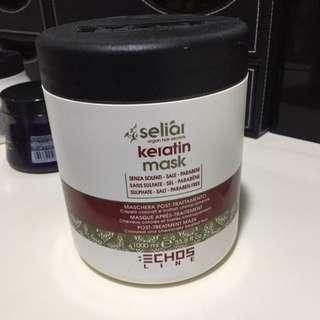 keratin post treatment mask