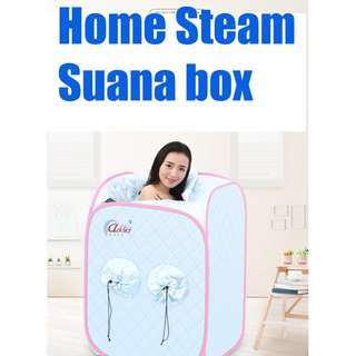 portable steam suana box