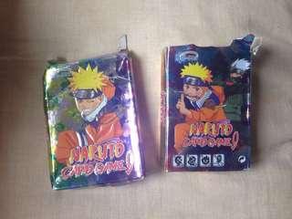 Naruto cards (Yu-Gi-Oh type)